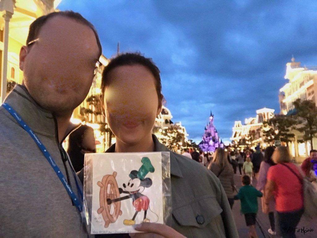 3ème dessin pour mon World ART DROP Day 2017 à Disneyland Paris - Trouvé !
