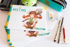 "À vendre - Le mini-Fanzine Jeunesse ""Bretzel n°0"""