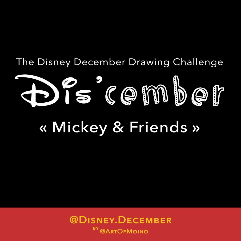 Dis'cember - Disney December 2018