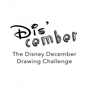 Logo - Dis'cember - Disney December
