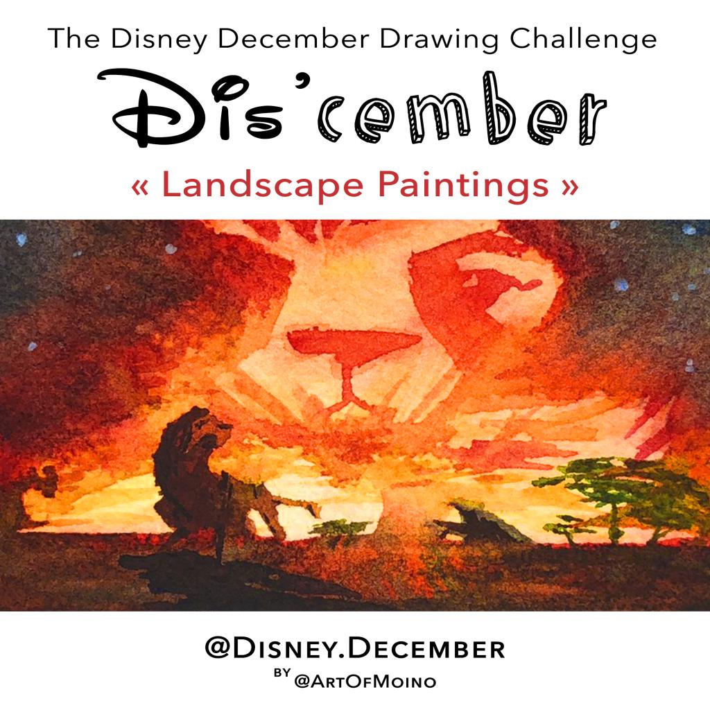 Dis'cember - Disney December 2020