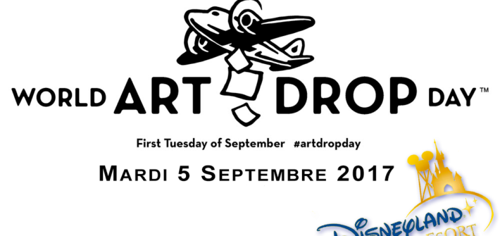 World ART DROP Day, à Disneyland Paris