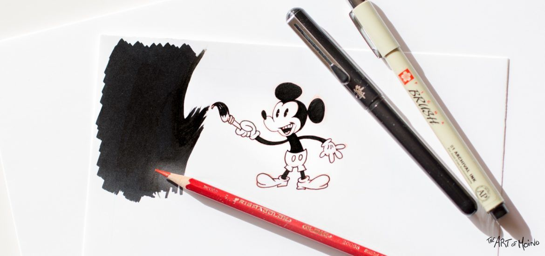 Disney Inktober