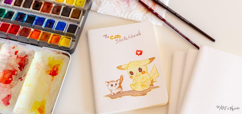 Carnet personnalisé — Pokemon — Pikachu et le chaton